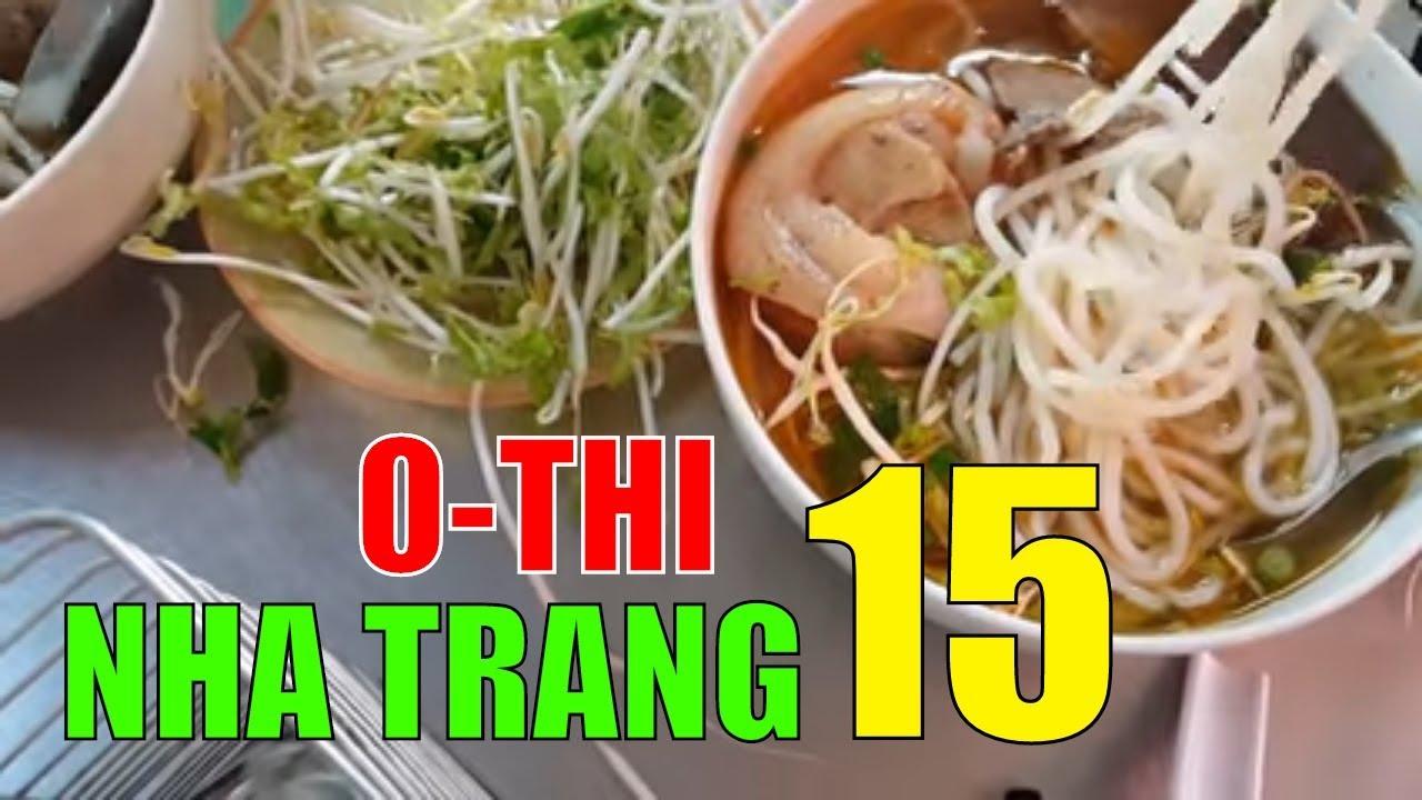 ĐÚNG CHẤT Bún bò xứ Huế O THI Nha Trang vẫy gọi  | Lý hương TV Travel Nha Trang