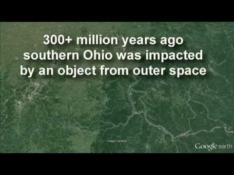 Serpent Mound in Ohio built on an ancient 'Astrobleme'