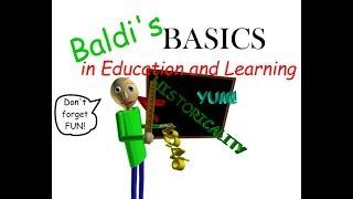 """Решил третий пример в """"Baldi's Basics In Education And Learning"""" (Обзор Чита)"""