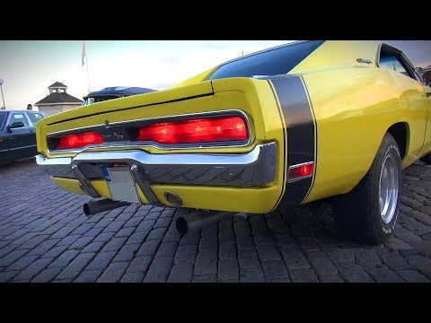 1970 Dodge Charger R/T With The Perfect Big-Block V8 Sound