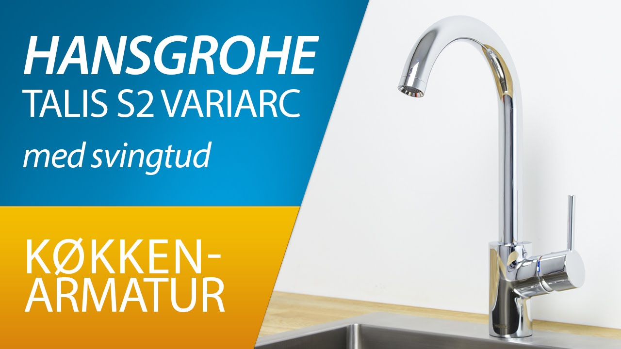 produkt hansgrohe talis s2 variarc k kkenarmatur youtube. Black Bedroom Furniture Sets. Home Design Ideas