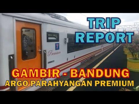 Jalan Jalan ke Bandung Naik Argo Parahyangan Premium Gambir-Bandung [TRIP REPORT GOPAR PART 1]