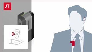 Cómo empárejar Signia StreamLine Mic con sus audífonos