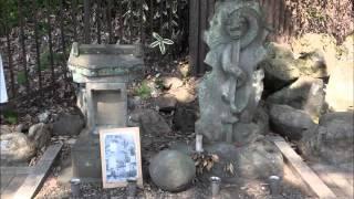 川越市の仙波河岸史跡公園 2016年3月22日