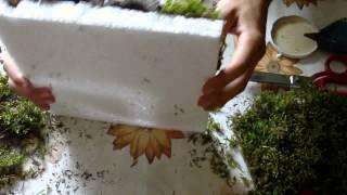 Tutorial: Ścianka do terrarium tropikalnego...