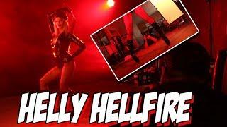 Goddess Helly Hellfire photo shoot with Marcos Rivera - SLIVAN #424