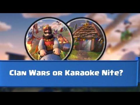 War Or Karaoke