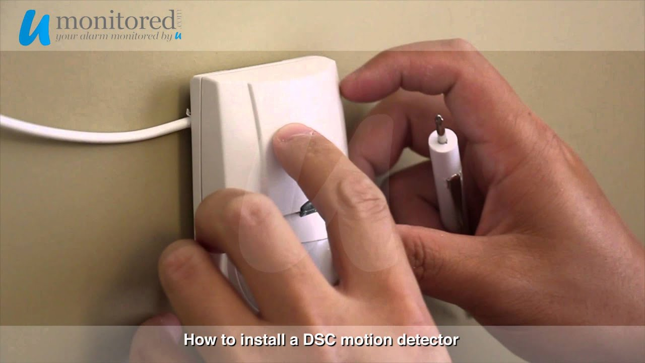 maxresdefault dsc install a motion detector youtube
