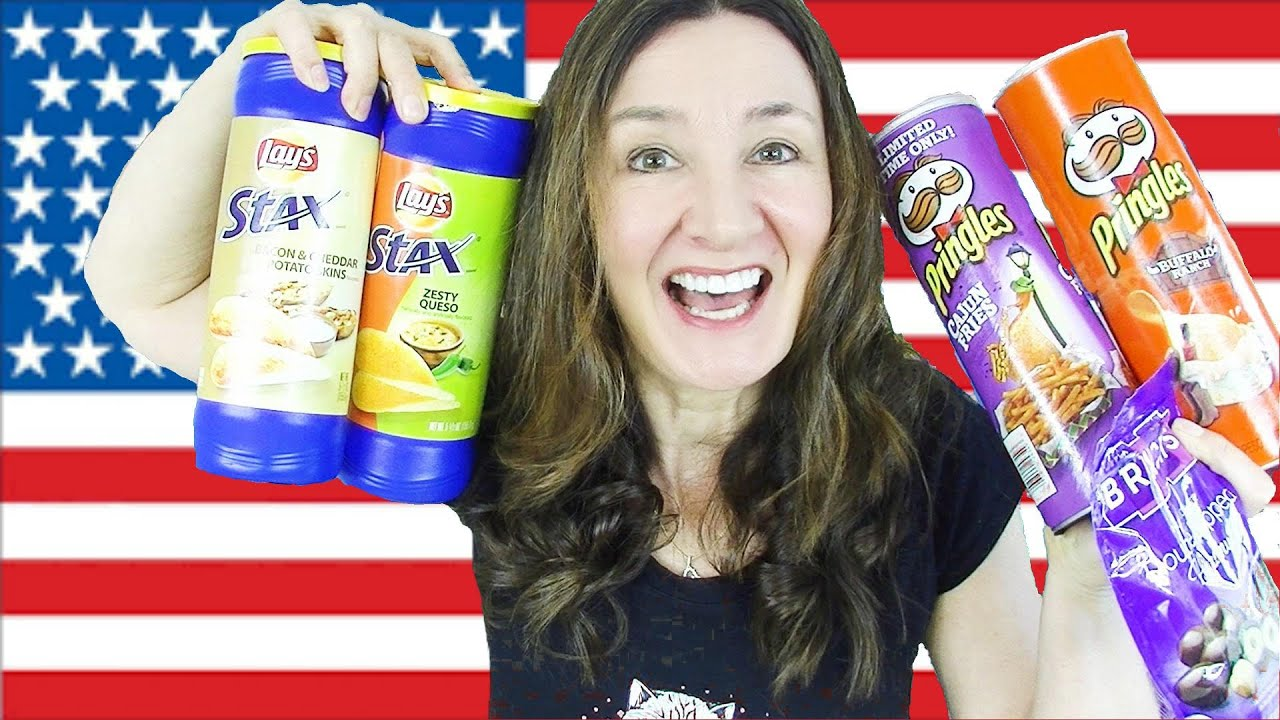 Download AMERICAN New Pringles and Stax Taste Test and Blueberry Blast