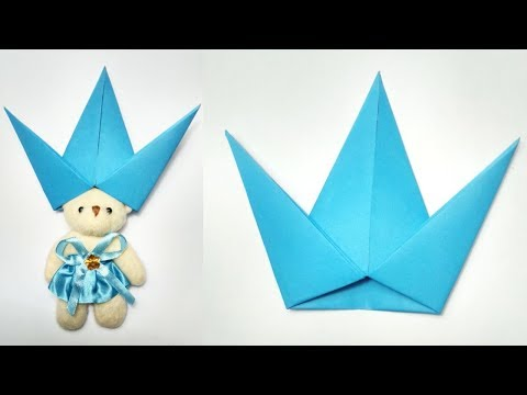 Easy Origami Crown Tutorial || How to Make Paper Crown