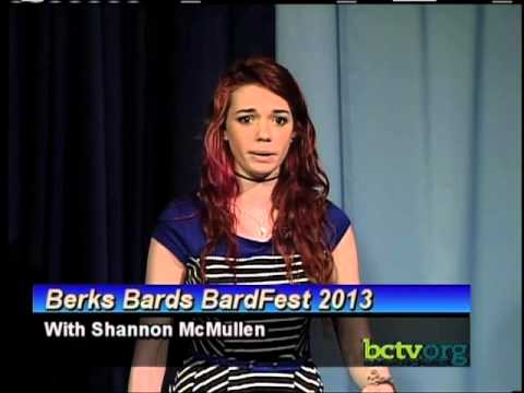 Berks Bards Bardfest 2013 with Shannon McMullen