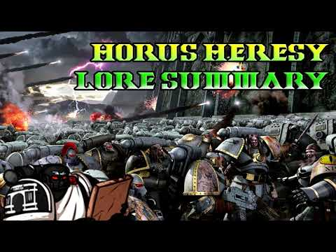 30K Lore, The Horus Heresy Lore Breakdown, Horus Rising 1