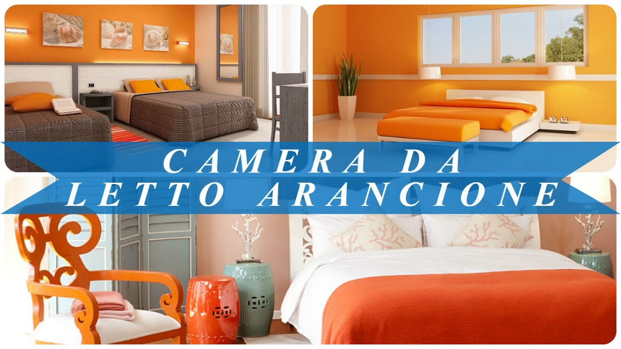 Camera da letto arancione youtube for Muri colorati camera da letto