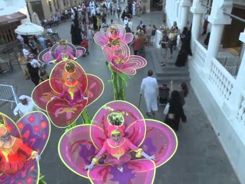EMPRESS Stiltdance - Flowers DOHA, Qatar in Oct 2014