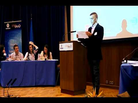 Final V Torneo Escolar de Debate - Comunidad de Madrid (2014)