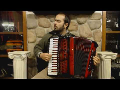 Technical Exercises for Piano Accordion - Lesson 5  - Repeated Notes