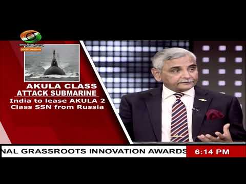 SECURITY SCAN : India to get new AKULA Class Submarine