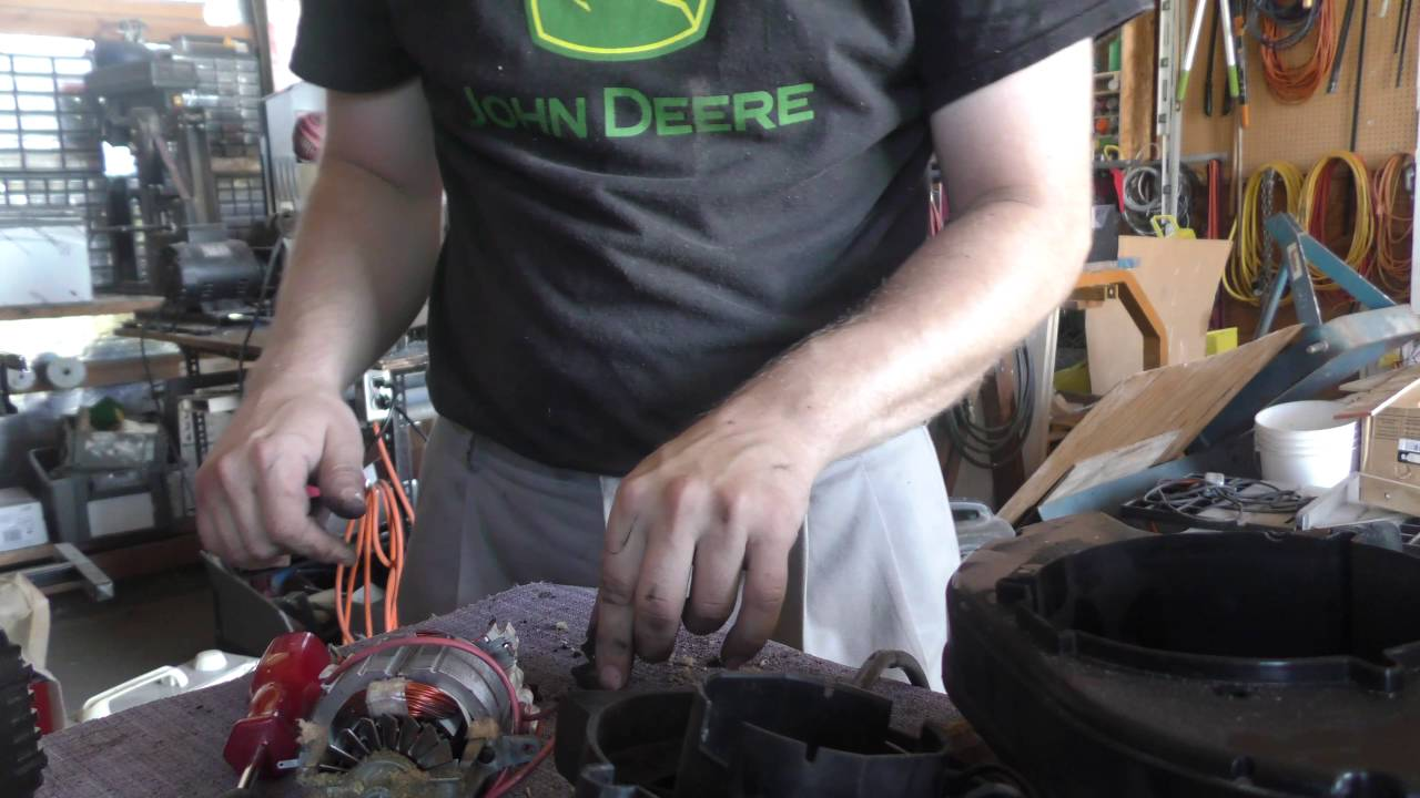 repairing a shop vac vacuum cleaner with a broken switch [ 1280 x 720 Pixel ]
