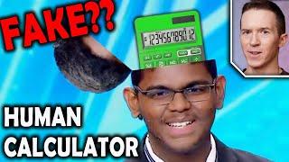 Magician Reacts To Yaashwin Sarawanan Human Calculator On Asia's Got Talent 2019