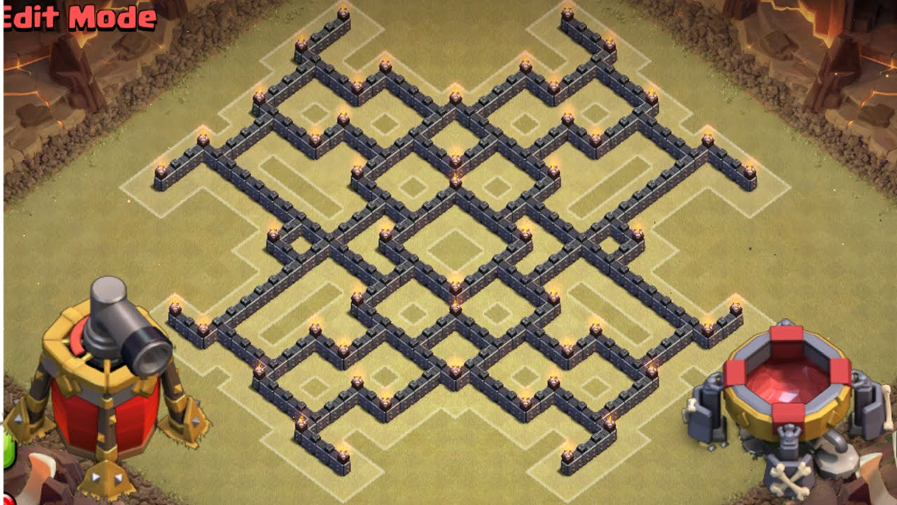 Th9 Best Defense War Base 10