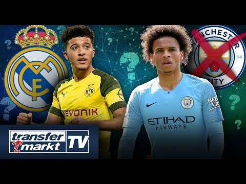 Real-Trainer Zidane will Sancho – Sané unzufrieden bei Man City? | TRANSFERMARKT