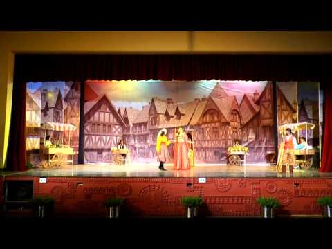 One Act Play in English  'The Scoundrel Scapin'   Annual Function 2015