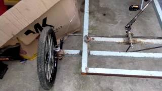 my home made pedal car part 1