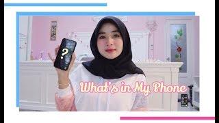 What's in My Phone | Sahnas Asalpiah