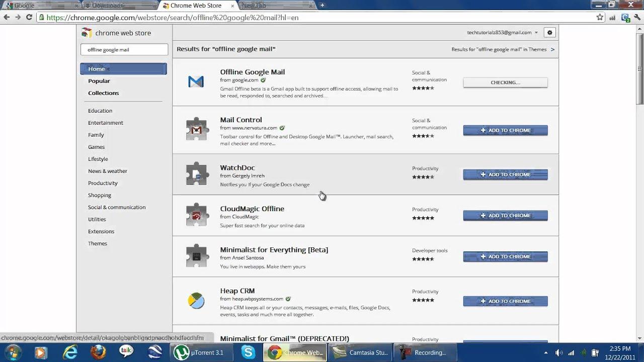 Google mail download