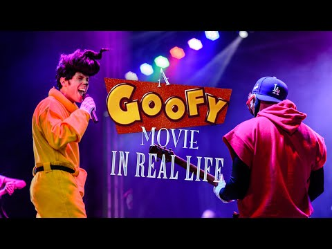 A Goofy Movie IN REAL LIFE (SINGING)