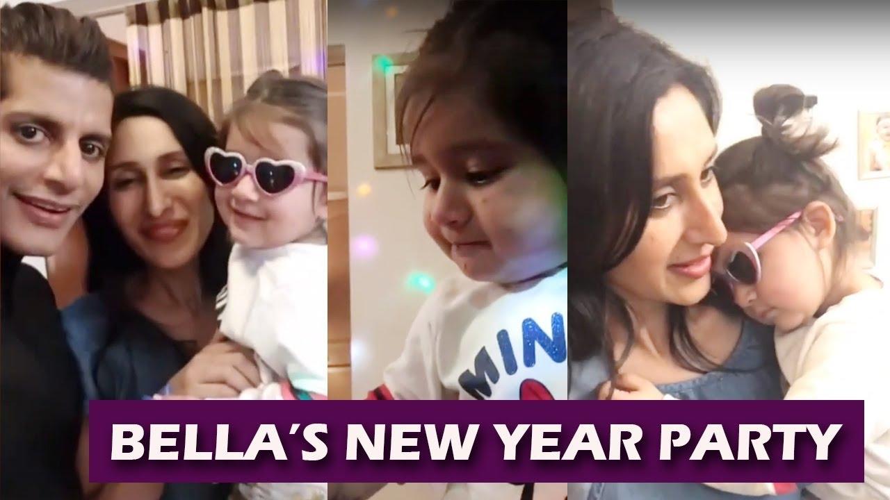 So Cute! Bella Looks SUPER CUTE On New Year Celebration 2019 With Karanvir & Teejay