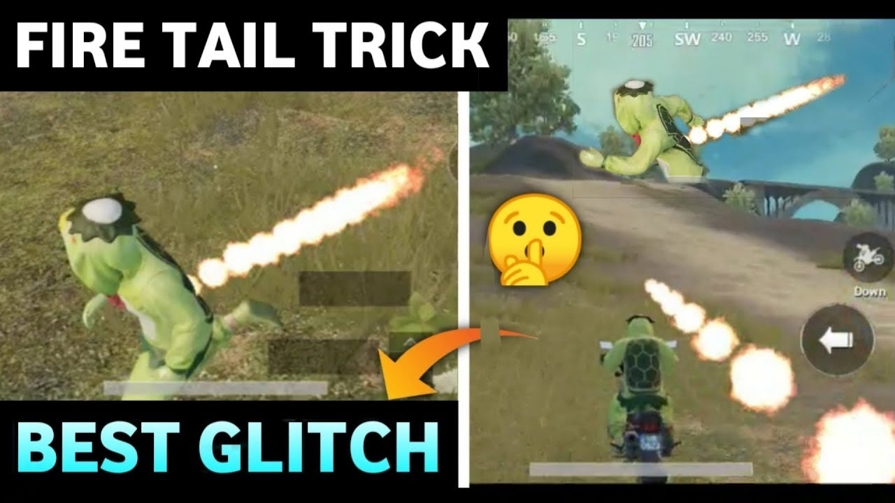 New Fire🔥 Tail Trick in Pubg Mobile / 0% People Know this Secret Glitch /  Best Glitch