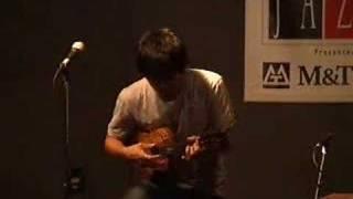 Jake Shimabukuro plays ukulele at jazz fest
