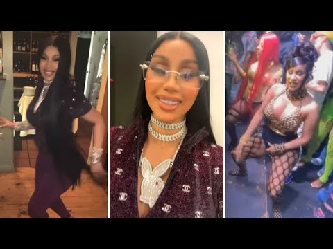 Offset SURPRISES Cardi B With a MANSION During Birthday Party