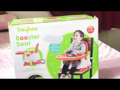 Baybee boster seat review |Baby high chair economical | Unboxing of Feeding Chair for 6 months +