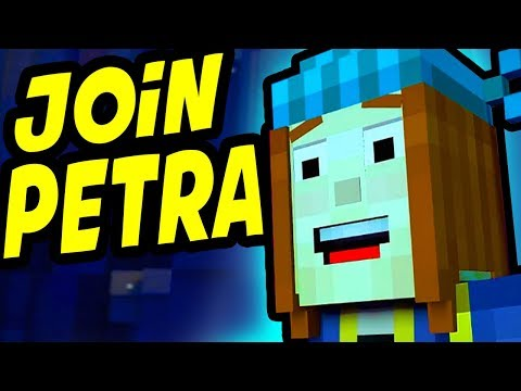 Minecraft Story Mode Season 2 Episode 2 Choose JOIN PETRA / ESCAPE THE ROOM PUZZLE