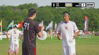 WUCC 2018 - GOAT (CAN) vs Nomadic Tribe (JPN)