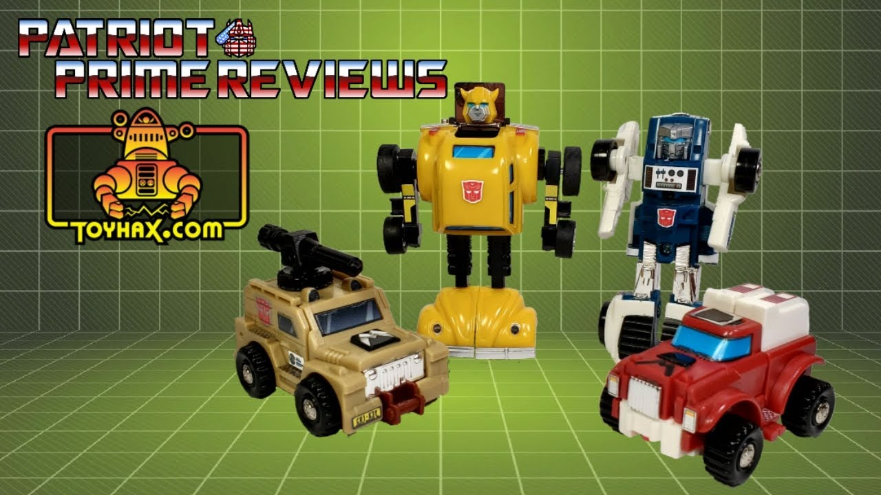 Toyhax Upgrade Set for G1 Minibots By Patriot Prime Reviews