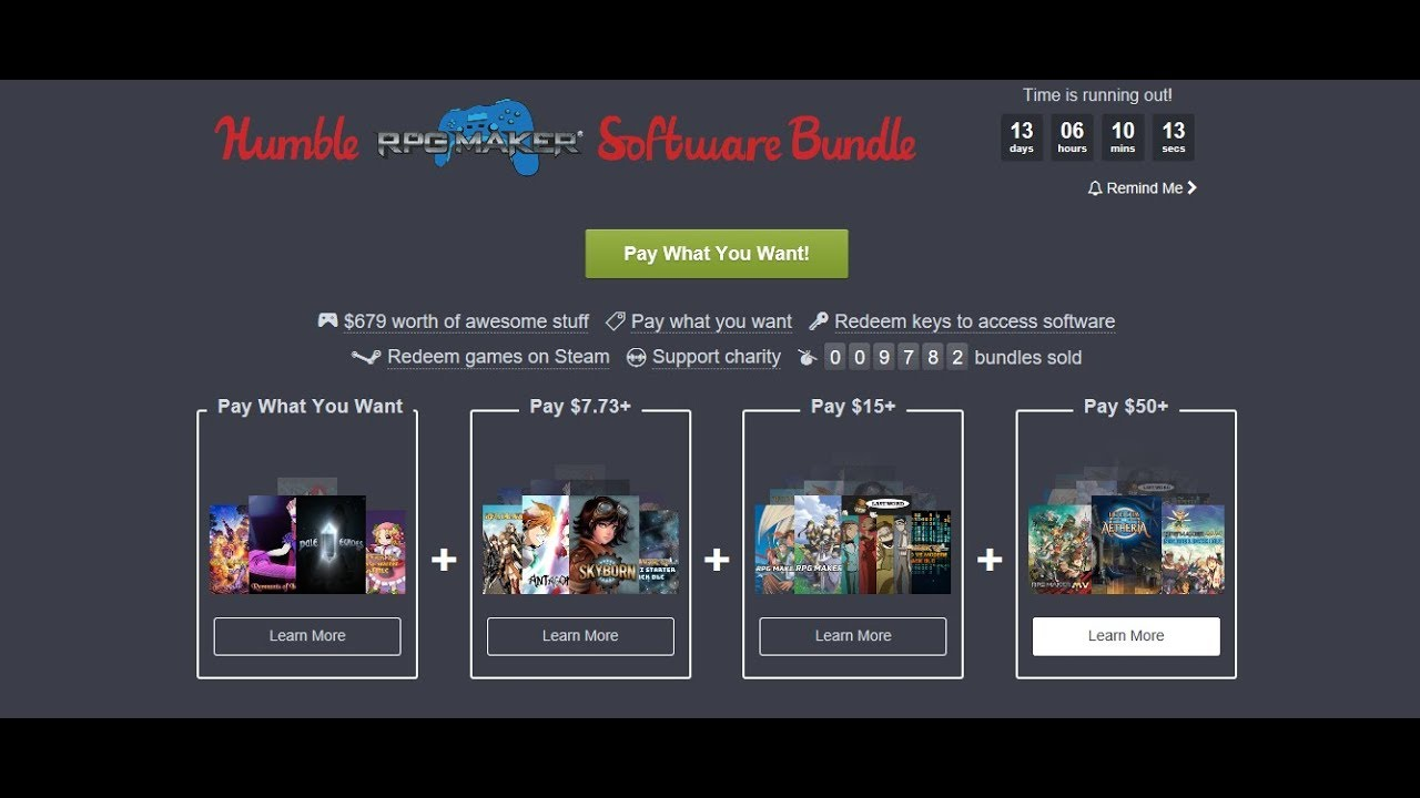 Humble Software Bundle - RPG Maker - 05-19 10 - Overview - All Trailers