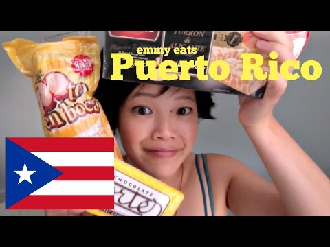 Emmy Eats Puerto Rico - tasting Puerto Rican sweets