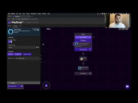 Run a Python Script w/ an Alexa Voice Command