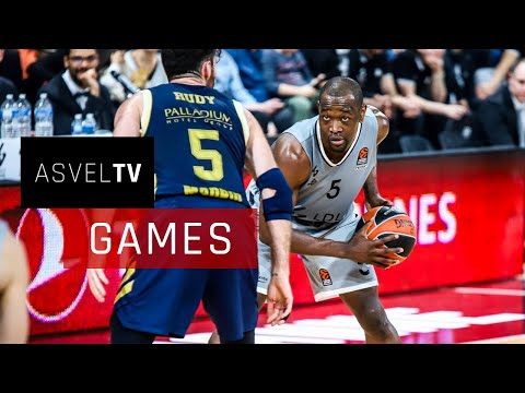 Round 17 EuroLeague : LDLC ASVEL vs Real Madrid - Highlights