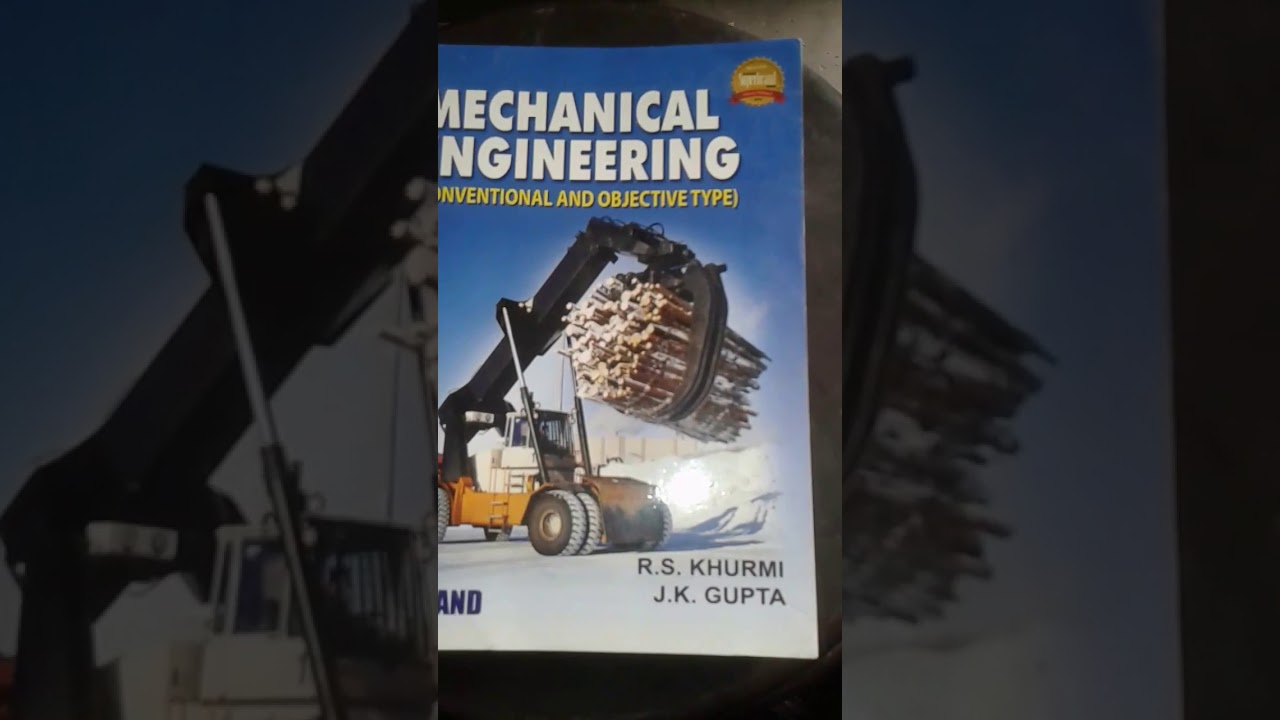 Mechanical Engineering Objective Book Rs Khurmi