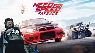 Need for Speed: Payback наконец-то на руле Fanatec ClubSport!