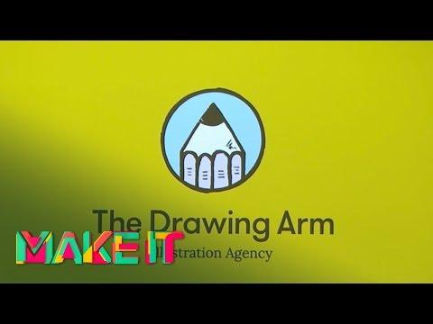 MAKE IT 2017 - Lara Allport, Simon Barrett - Representing Illustrative Art