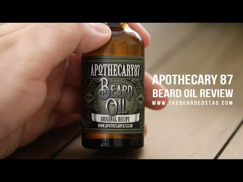 Apothecary 87 Beard Oil Review Original Recipe