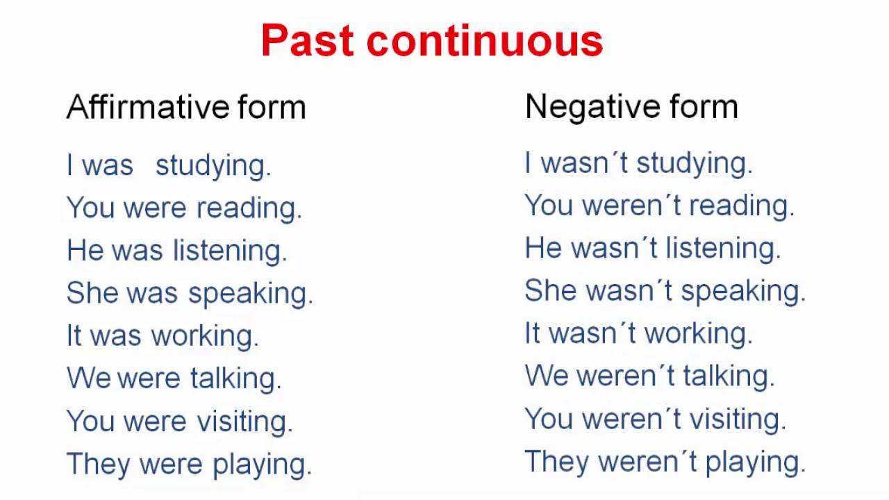 Aula 07 Past Continuous E Verbo To Be No Passado