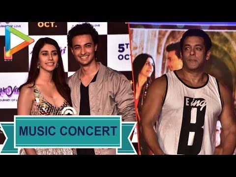 Loveyatri music concert with Salman Khan, Aayush Sharma, Warina Husain