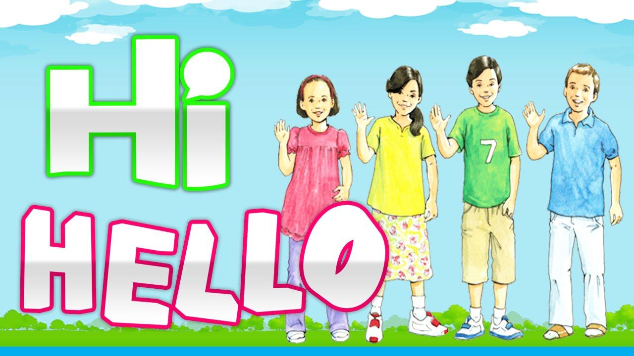 Hello Hi Goodbye Learn English For Children 1 تعلم