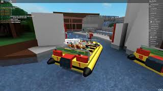 Roblox Jurassic Park The Ride Partie 3